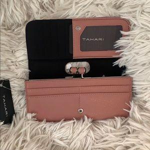 Pink Tahari Wallet NWT